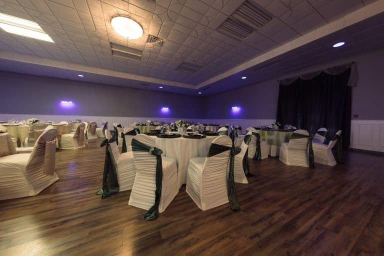 high end wedding reception event center