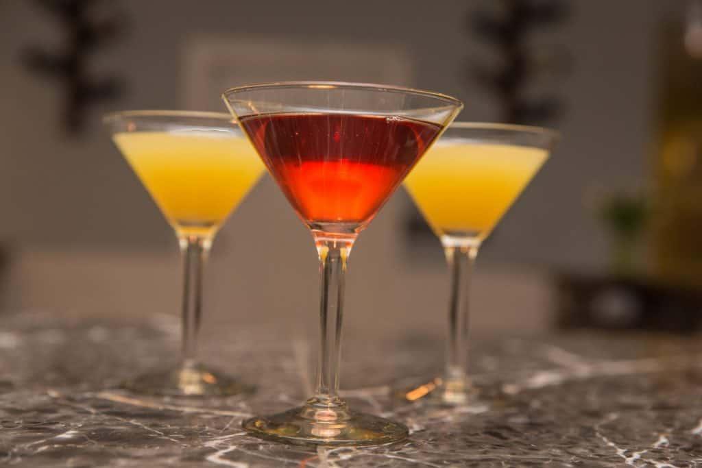 mimosas and martinis