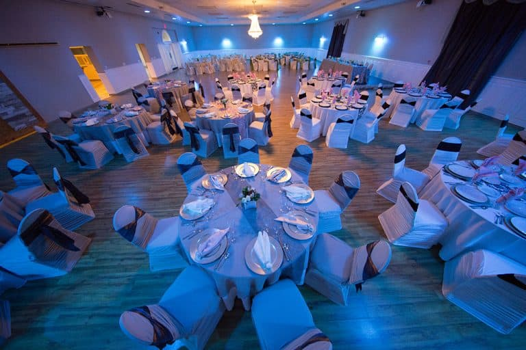 light blue wedding theme